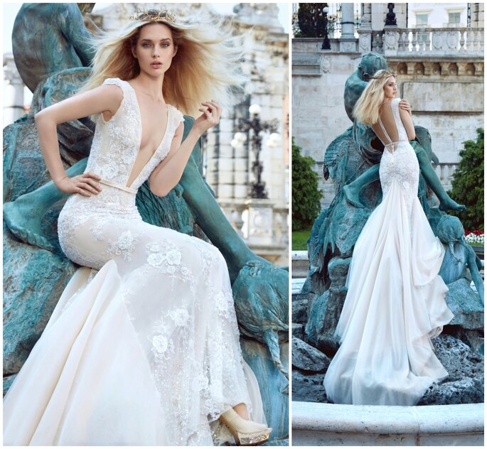 Image: Galia Lahav Ivory Tower Haute Couture Collection, dress 1611 Roxanne