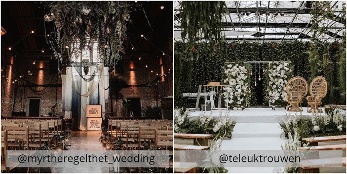 Bruiloft inspiratie Instagram