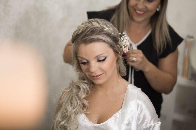 "Noiva ""tratada"" por Sara Costa Beauty Consultant"