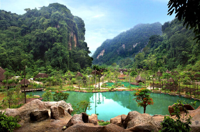 Lune de miel au Banjaran Hotsprings Retreat - Malaisie