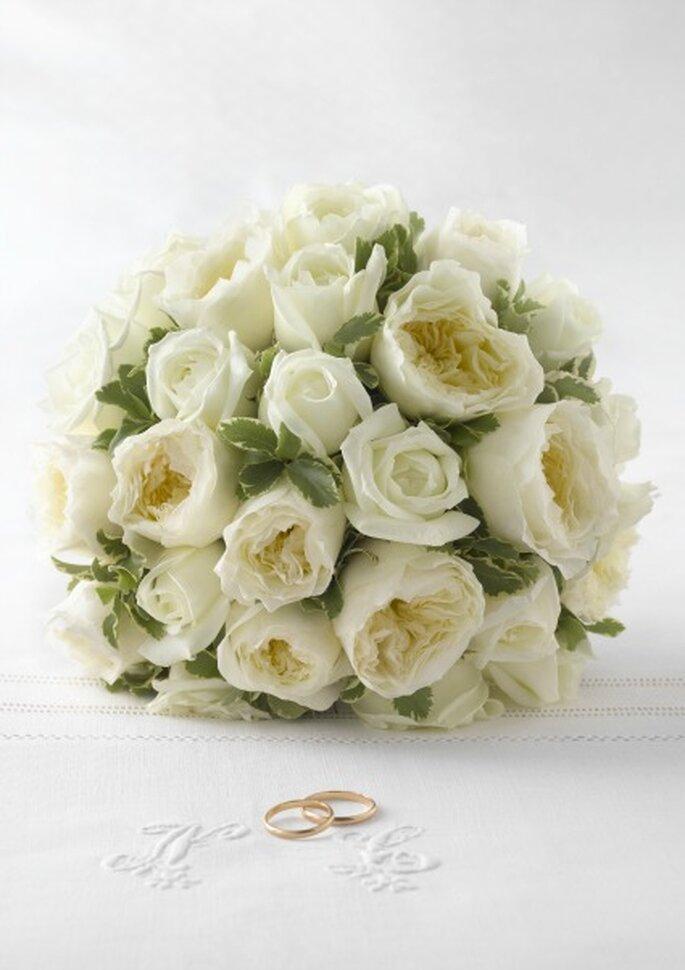 Un bouquet de mariée raffiné et poétique ? - Photo : Au nom de la ros
