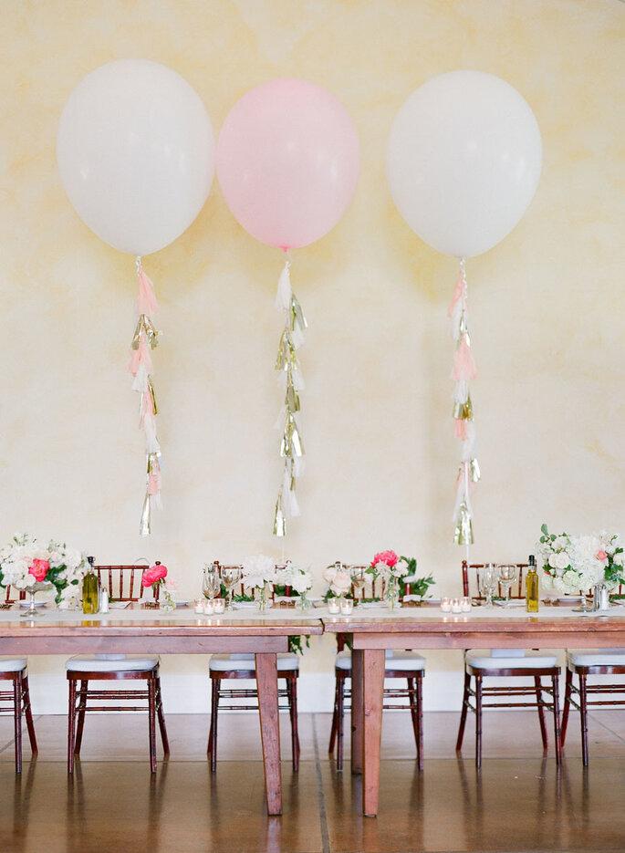 Globos para decorar tu boda - KT Merry