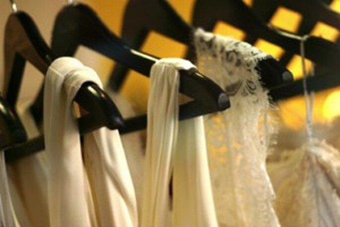 El vestido de novia debe ir a la tintorería