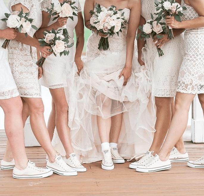 sports shoes 4987b 94385 Die coolsten Sneaker für die Braut - So sagen Sie stylisch ...
