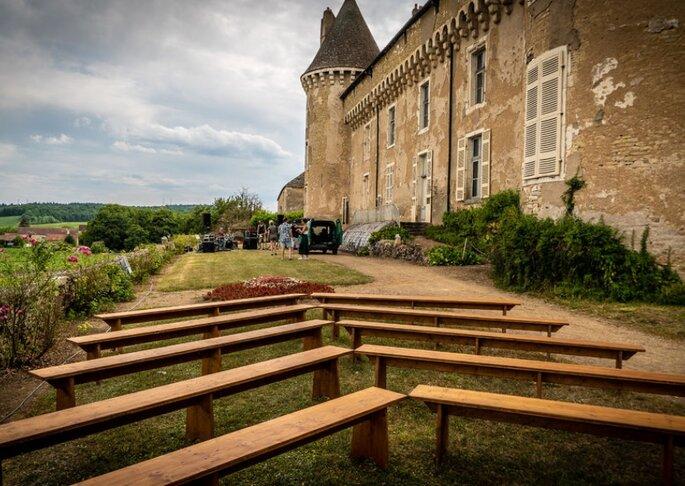 Château de Rully, lieu de réception pour votre mariage en Bourgogne