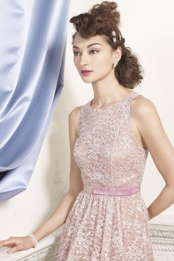 Elegant und sinnlich – rosa Brautkleider – Foto: bhldn