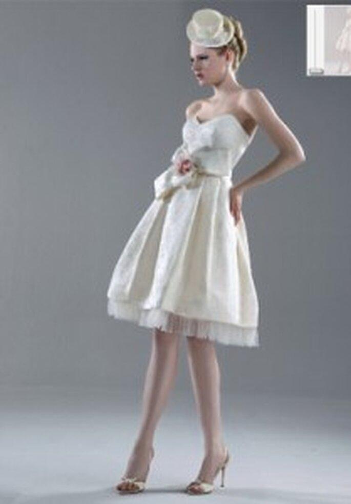 Vestido de novia - Esther Rodríguez - Vestido corto