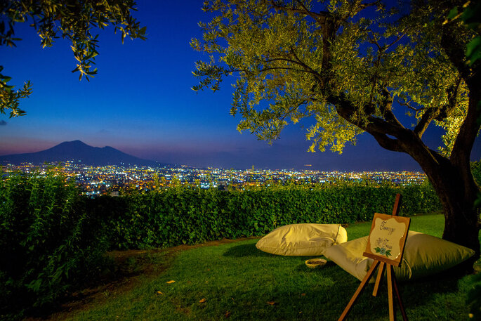 Vista mozzafiato su Napoli