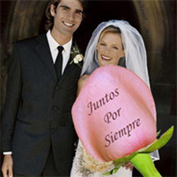 Rosas y otras flores personalizadas para bodas o aniversarios