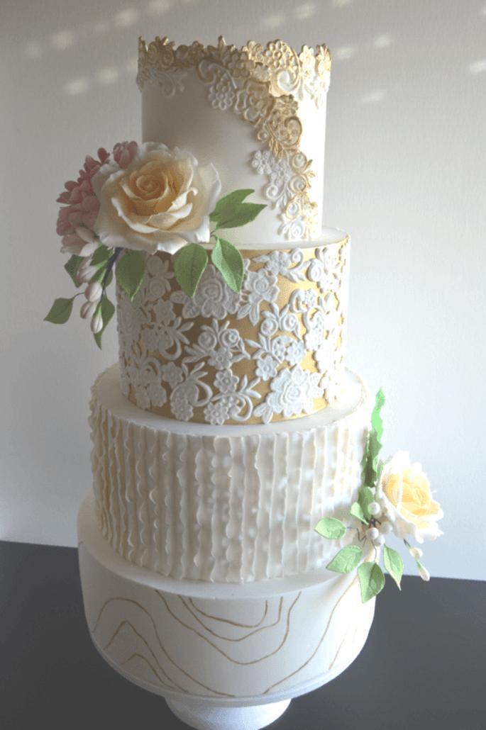 Bolo de noiva da Nice Cakes