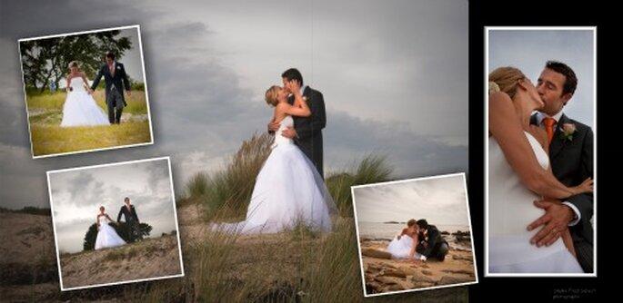 Rien de tel que de faire les photos de couple dans la semaine qui suit le mariage - Photo : Studio Fred Salvert