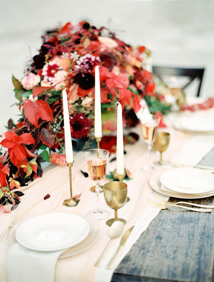 Tischgesteck Hochzeit