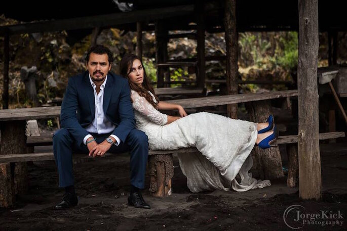 Una sesión Trash the Dress de película - Jorge Kick