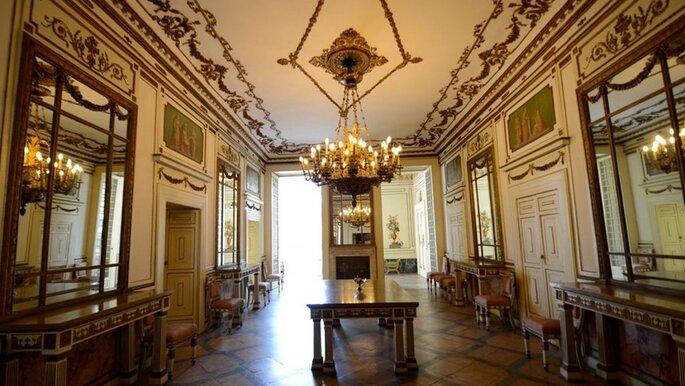 Amis Catering & Banqueting - sala interna per ricevimento