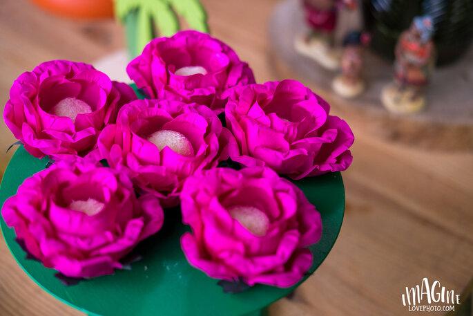 Oficina da Flor - Forminhas & Lembranças. Créditos: Imagine Love