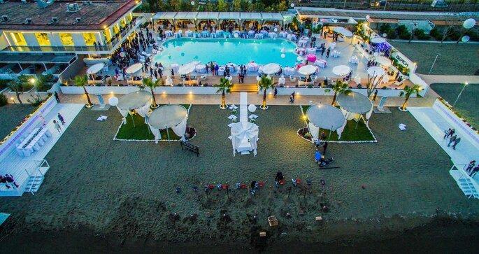 Kora Events - vista della location dall'alto