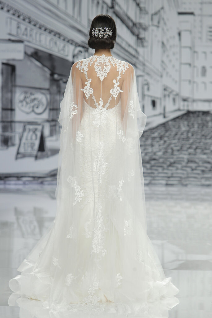 Foto: Justin Alexander en Barcelona Bridal Week