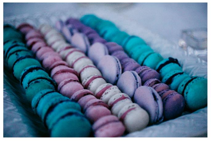 Macarons para el postre de tu boda - Foto Photogroup