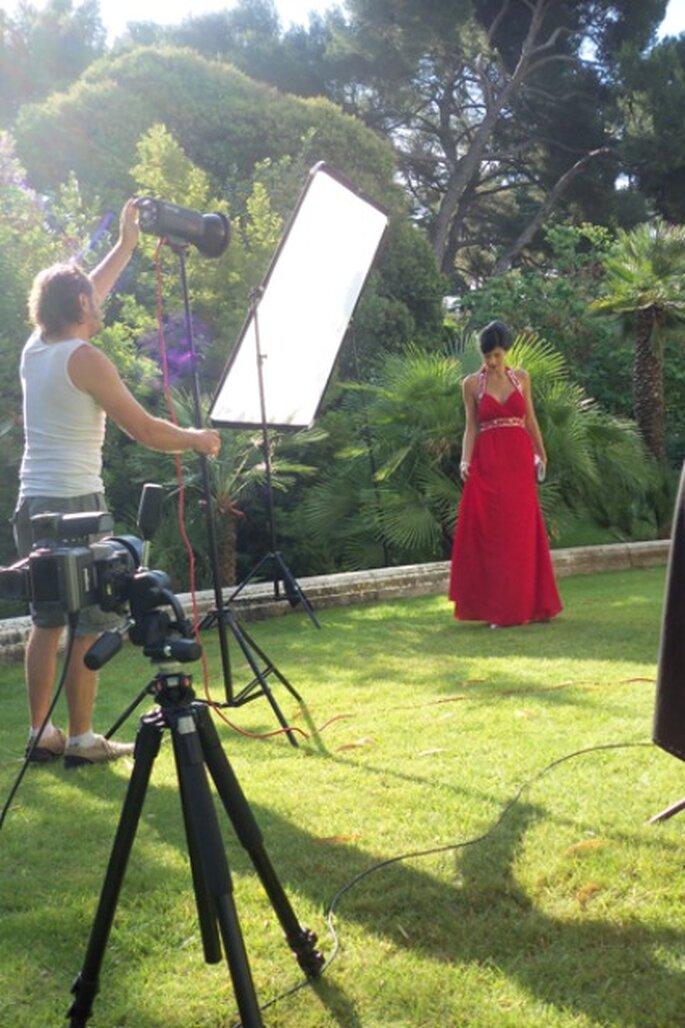 Robe de mariée rouge - Tati 2012