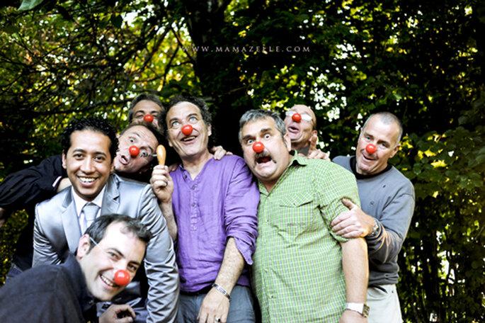 Einmal Clown sein. - Foto: www.mamazelle.com