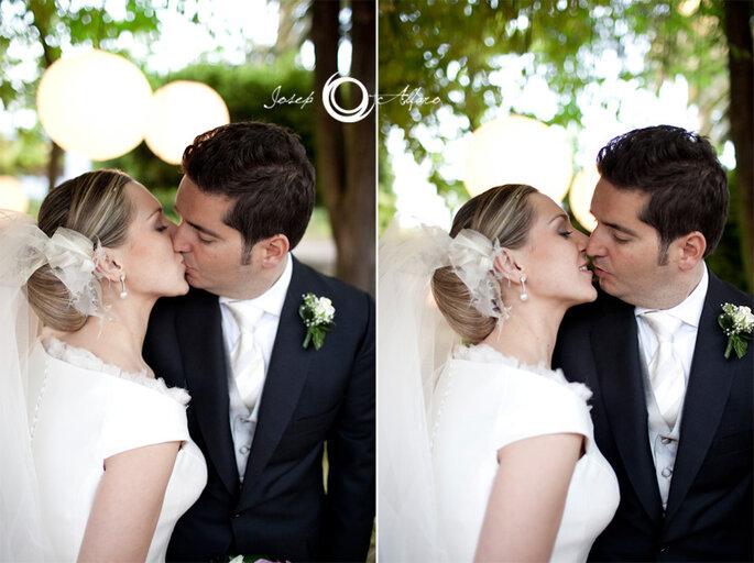Brautfrisuren mit edlem Haarschmuck aufwerten - Foto: Josep Álfaro