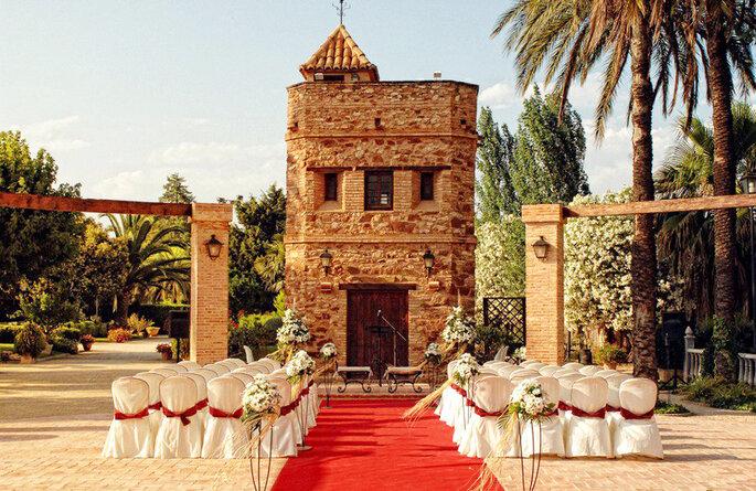 Las 7 mejores fincas para bodas en valencia for Jardines de la cartuja