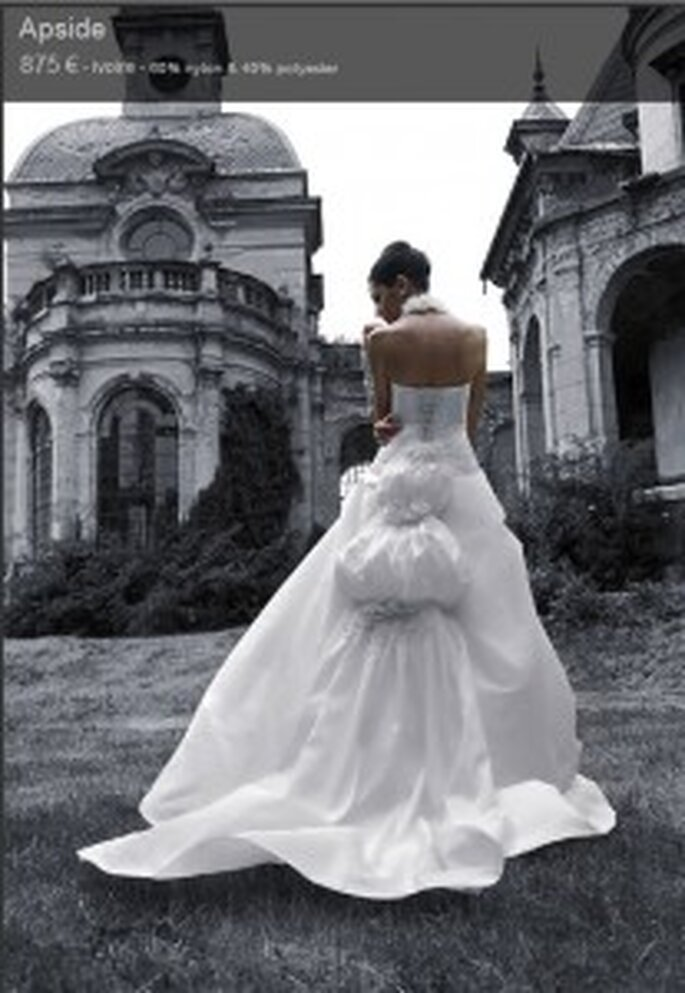 lise saint germain complicite-robe-mariage-2010