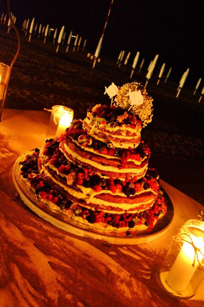 La Naked Wedding cake di Magnolia Eventi