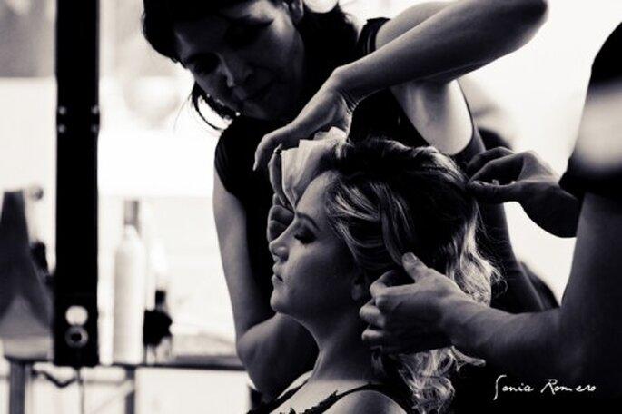 No hagas cambios drasticos en tu cabello antes del dia de tu boda - Foto Sonia Romero