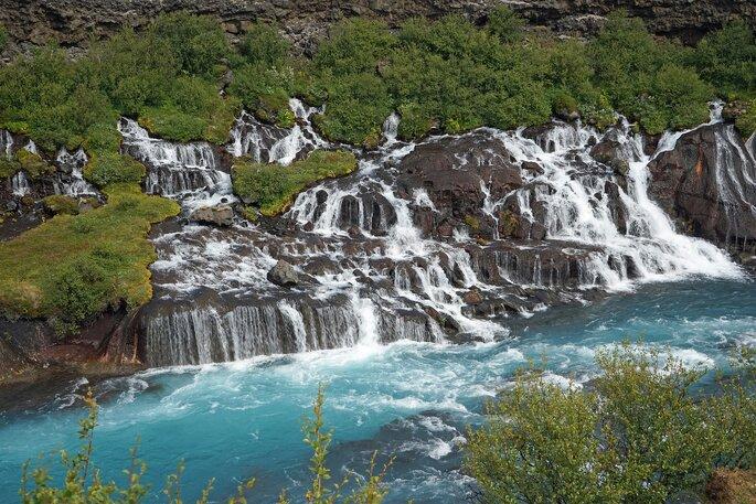 Falésia na Islândia