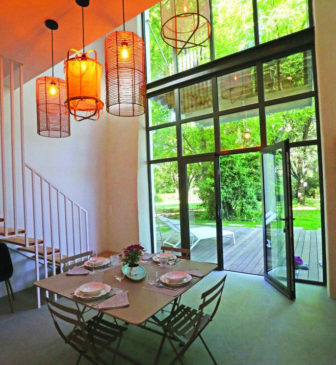 Suite nuptiale avec terrasse privative