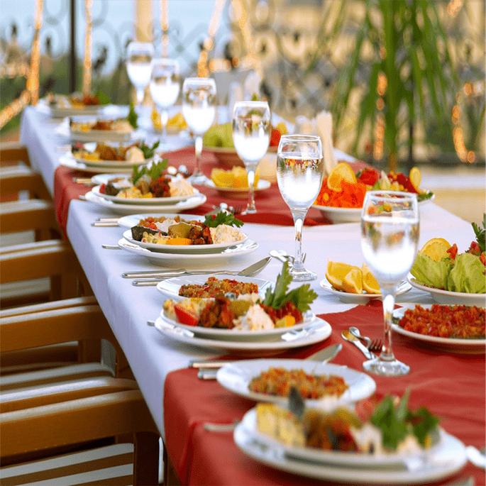 Caterer: Brajwasi Catering Services.