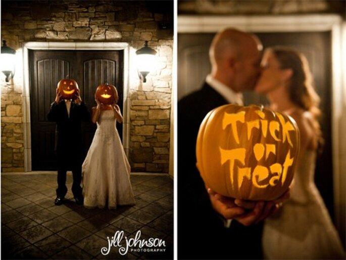 6 ideas para una boda inspirada en Halloween - Foto Jill Johnson Photography
