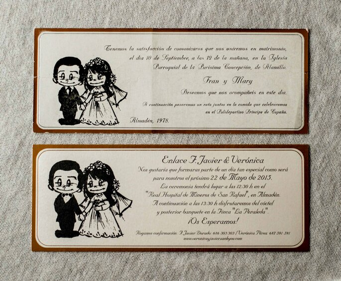 Invitaciones de boda Madrid