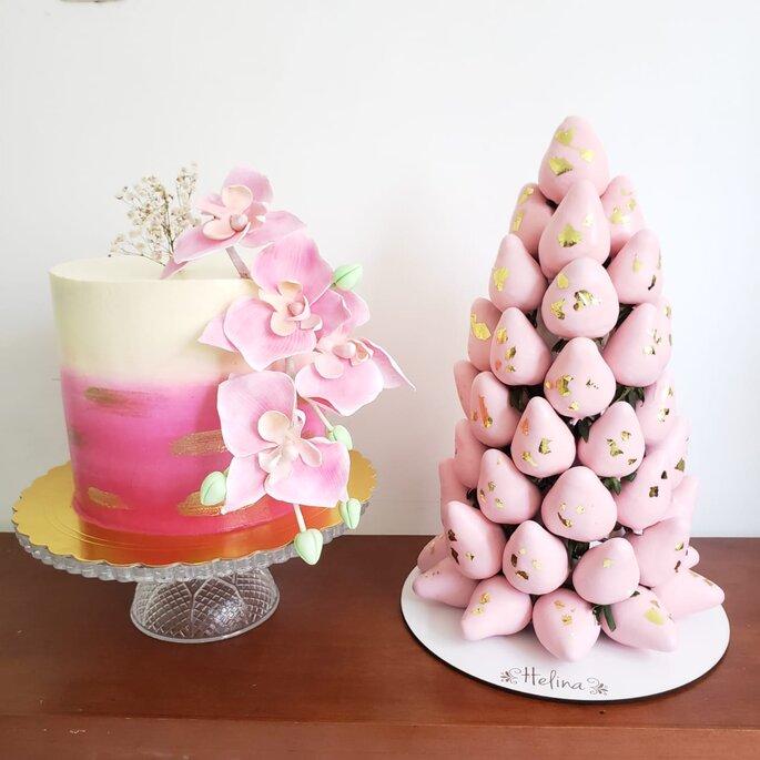 Helina Chocolatería y Pastelería para bodas