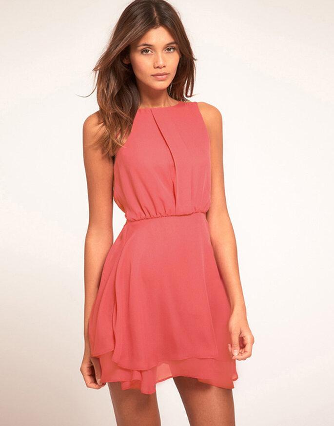 buy popular 1412b 40b5c Abbigliamento di moda, i vostri sogni: Abito chiffon corto