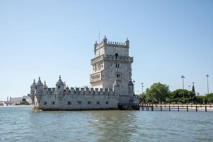Vsta para a Torre de Belém