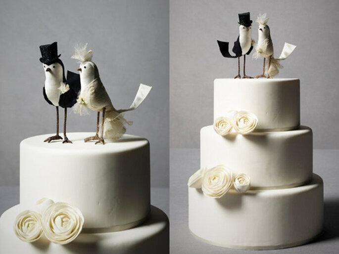7 Ein Vogel wollte Hochzeit feiern - Cake Topper von BHLDN