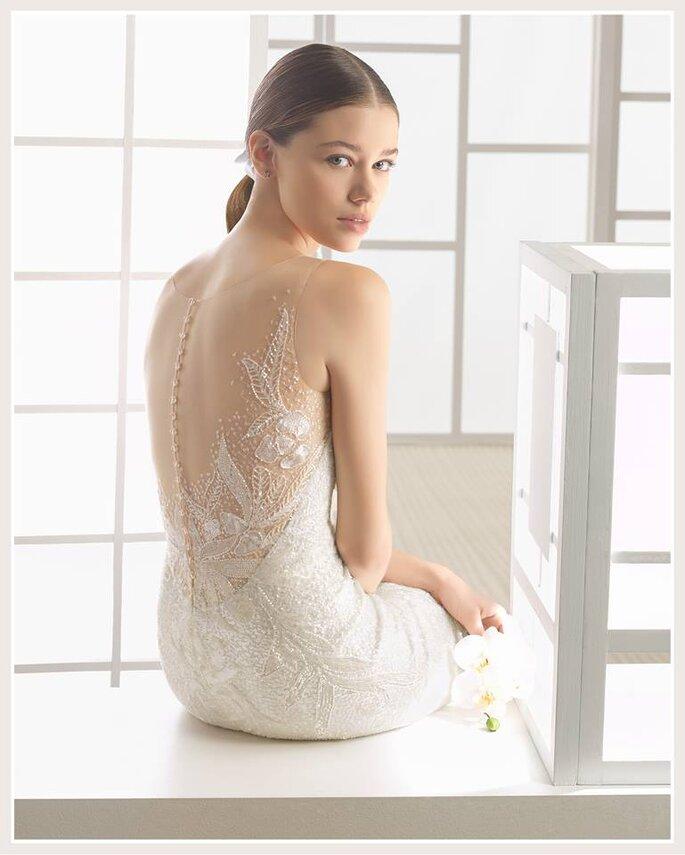 Vestido de noiva efeito tatooo