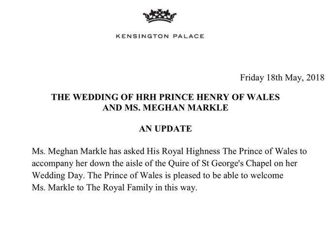 Foto: Twitter Kensington Palace