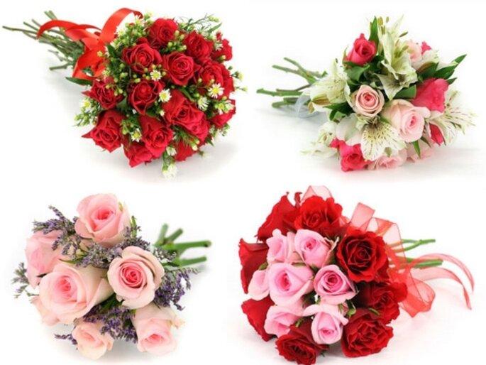 El segundo ramo de novia para la virgen. Fotos de floreriaclick.com