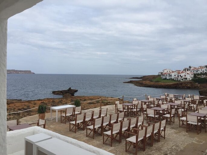 Isabella Beach Club restaurante bodas Menorca