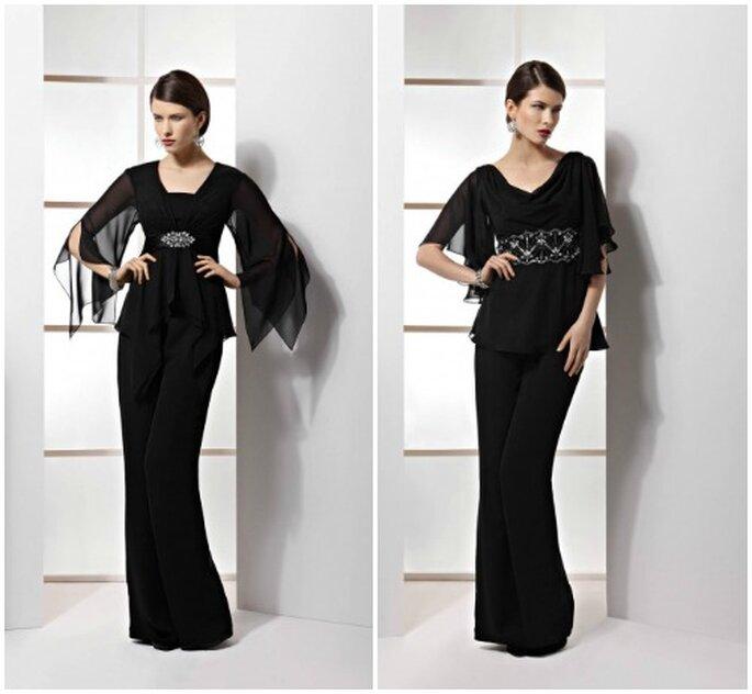 trends f r hochzeitsg ste outfits mit hosen kleider. Black Bedroom Furniture Sets. Home Design Ideas