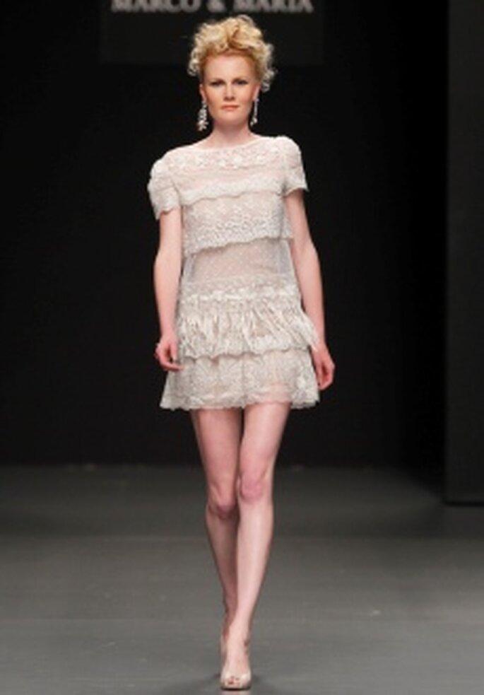 Colección de vestidos de novia cortos M&M 2011