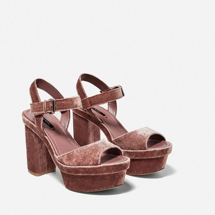 Zapatos de novia, Zara.