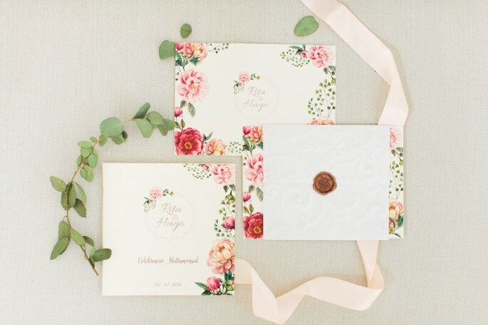convites de casamento - Adjetivo de Papel