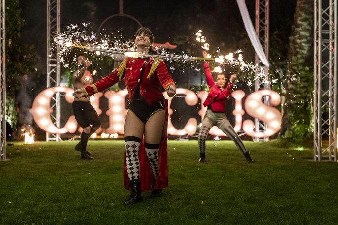 Espetáculo de circo