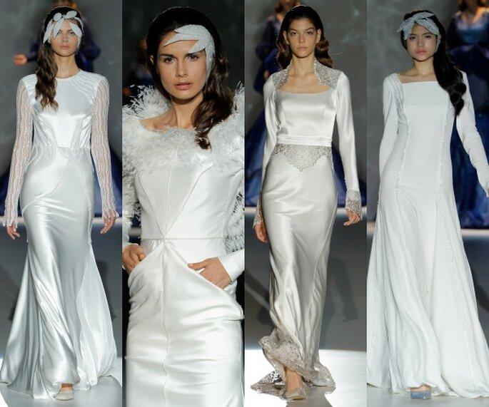 Isabel Zapardiez, collection 2015 - Photo: Barcelona Bridal Week