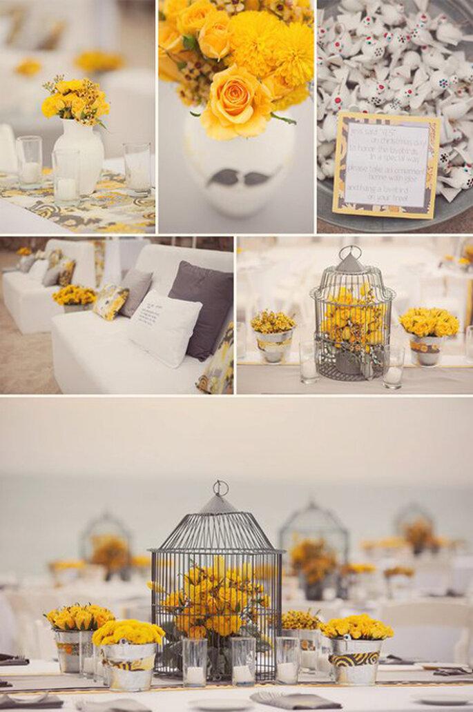 Serán tu toque vintage en la decoración de tu boda. FOTOS: