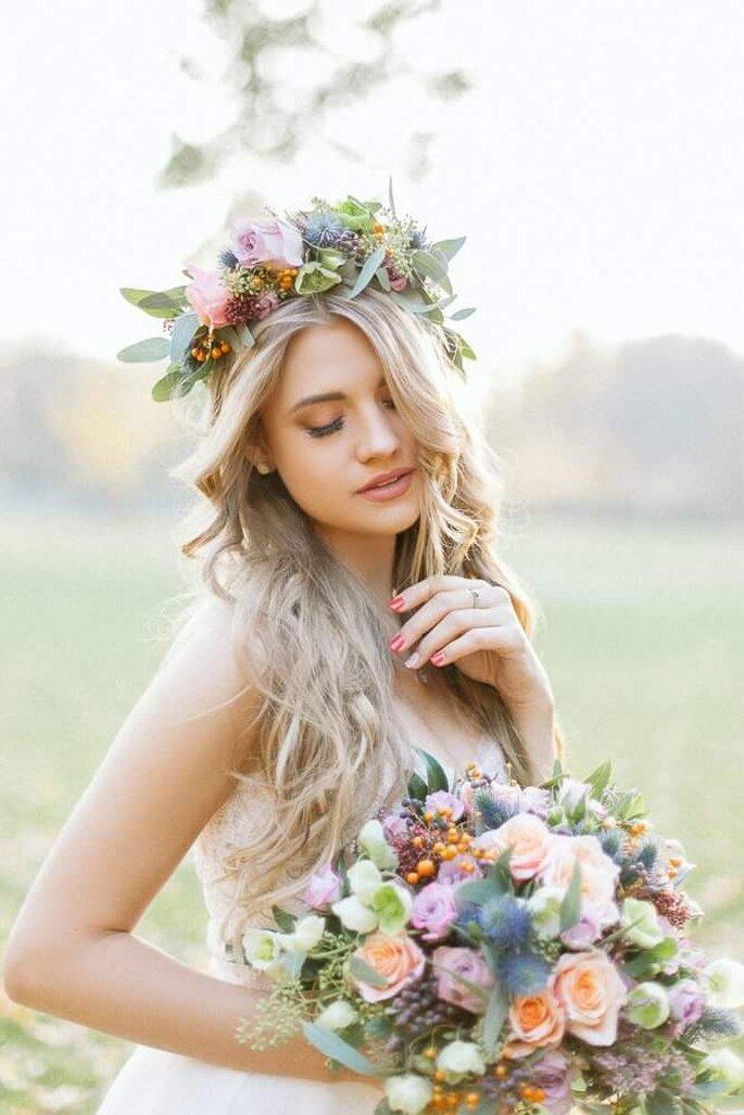makijaż Justyna Wróbel /fot. Elena Matiash /mod. Maria